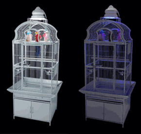 Illuminated Bird Cage